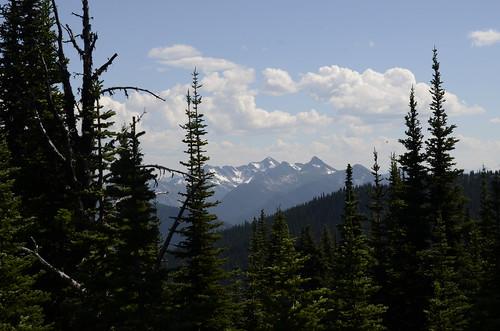 Manning Park view of snowy peaks