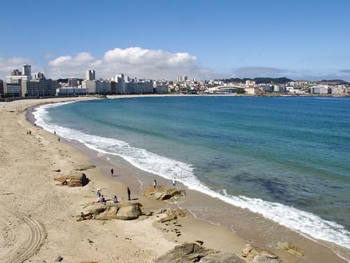 Playa de Riazor - A Coruña