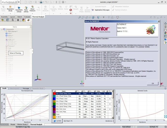 Working with Mentor Graphics FloTHERM XT v3.1 full crack