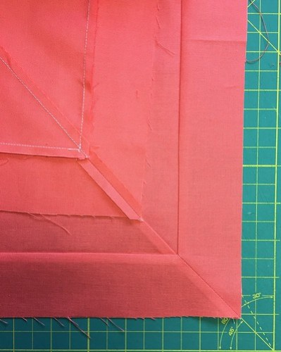 Mitred seams by Poppyprint