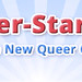 "Header ""Blaue Strahlen"" — Queer-Stars.de (.psdi)"