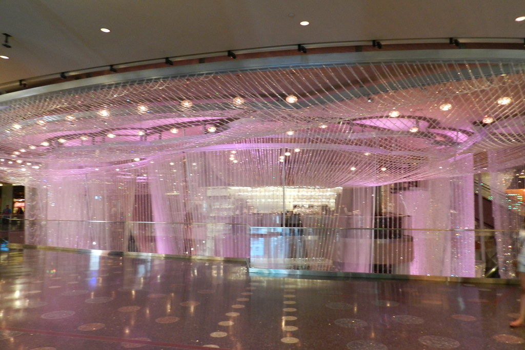 Hotel Cosmopolitan lampara de araña Las Vegas EEUU 04