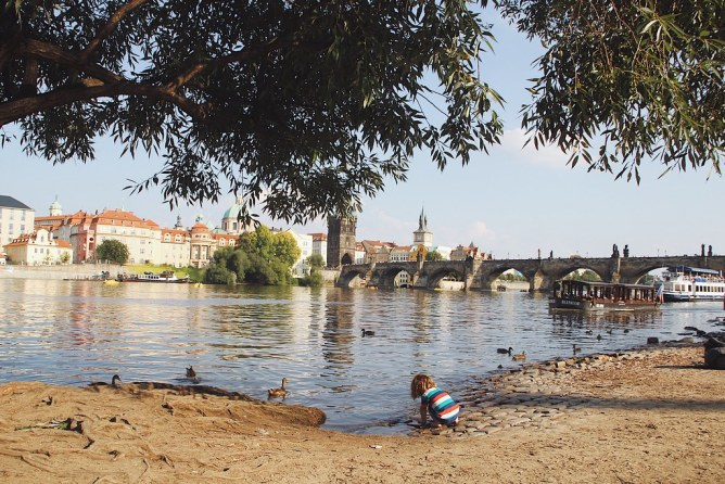 Helteinen Praha vilautti parhaita puoliaan