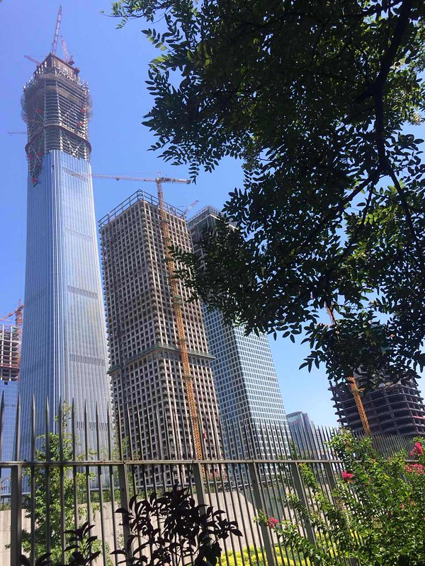 CITIC Plaza (China Zun Tower) seen in July 2017.