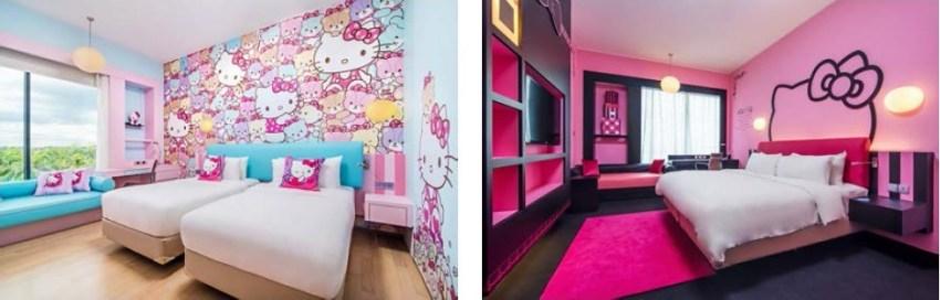 Hotel Jen Hello Kitty Room