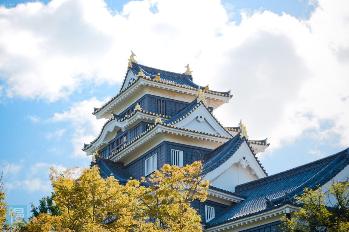 岡山景點自由行 岡山後樂園與岡山城 2016-520