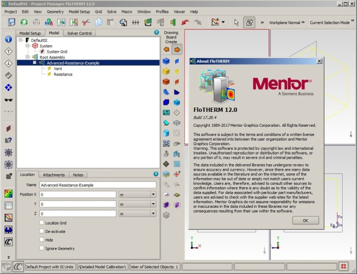 Working with Mentor Graphics FloTHERM Suite 12.0 Win Linux x64