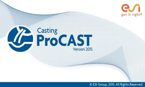 ESI ProCAST v2015.0 Win64 full license