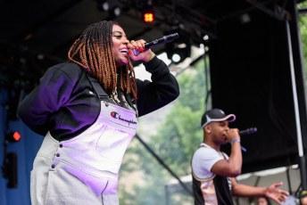 Kamaiyah @ Pitchfork Music Festival, Chicago IL 2017
