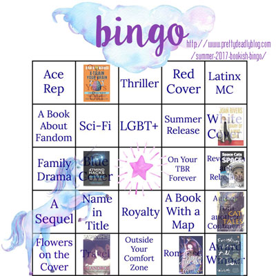 summer 17 bingo July progress
