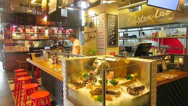 Bangkok's Artisan Cafe Restaurant precinct