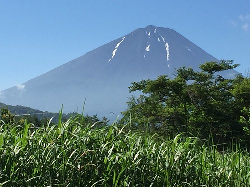 Mt. Fuji from Nemba, near Saiko