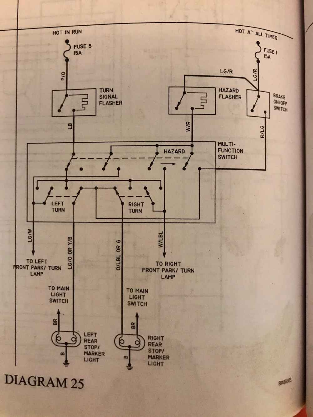 medium resolution of collins e350 rear brake and turn light wiring question school bus collins bus wiring diagrams source 2004 thomas