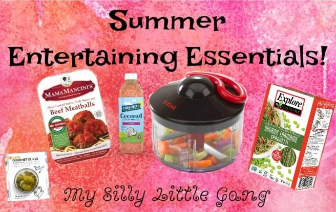 summer Entertaining essential