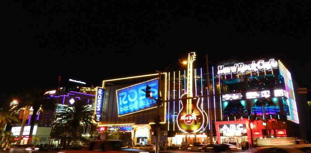 Hard Rock Cafe Bulevar Strip de las Vegas EEUU