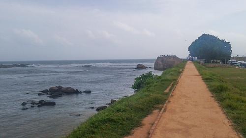 Sea Wall Galle Fort Sri Lanka