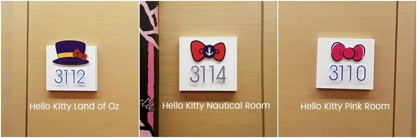 Hotel Jen Hello Kitty Themed Room