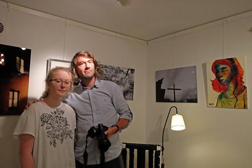 Matilda Alhager och Peter Bennich