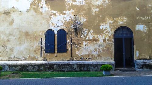 Exterior of Galle Fort Sri Lanka