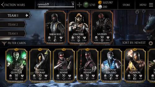 Mortal Kombat x Gameplay Game Mobile MG