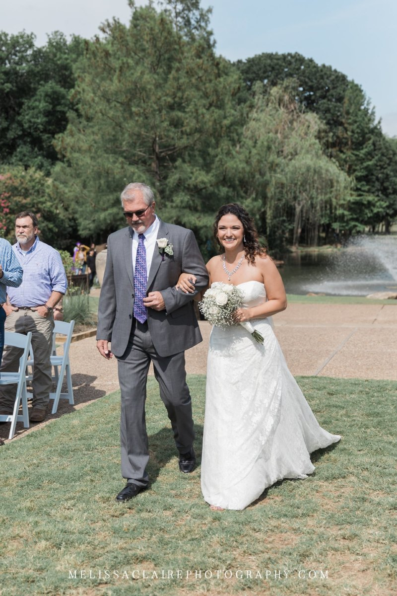 Fort Worth Botanic Gardens Wedding