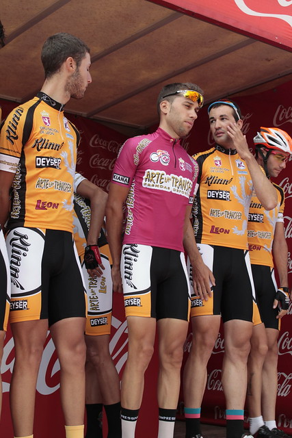 Galería 5ª etapa Vuelta León: San Emiliano-Villablino