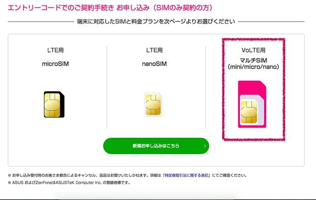 UQ SIMのみ契約