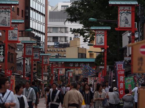 Near Senso-ji in Asakusa, Tokyo