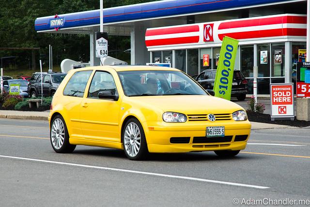Volkswagen GTI, MK4 Yellow