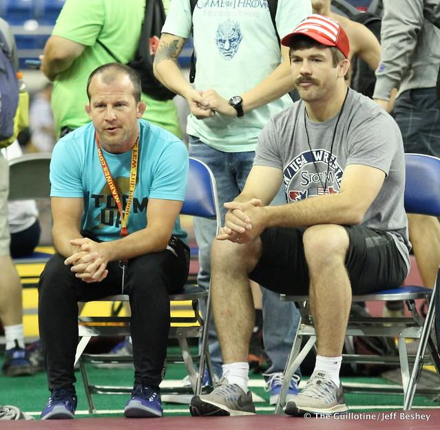Coaches Brandon Paulson and Andy Bisek 170719BJF0044