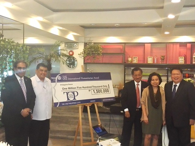 The One Philippines Humanitarian Award launch