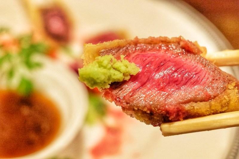 牛レアカツ 肉十八番屋 虎ノ門店