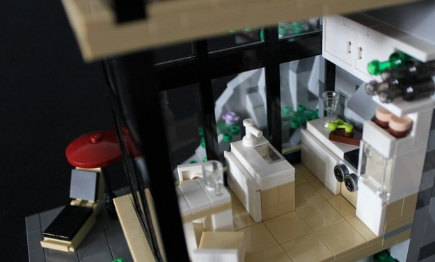 Green House MOC kitchen interior close-up II