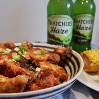 Recipe: Cloudy Cider Wings | #WingingIt