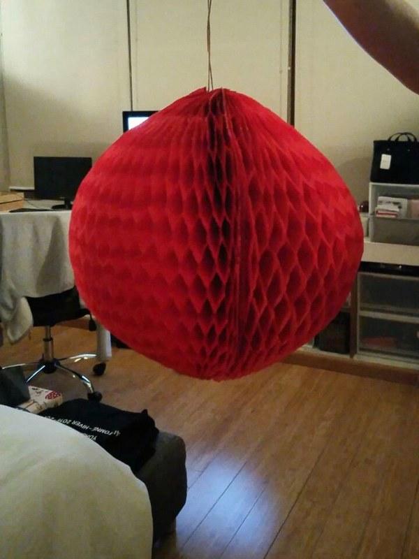 Red lantern I made
