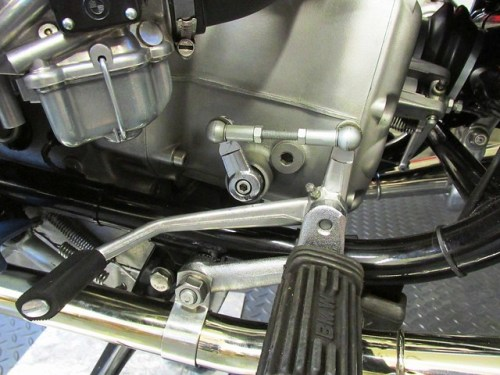 Later Ball Joint Version of Gear Shift Lever Installed