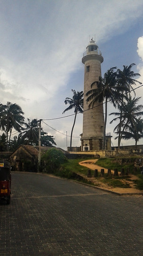 Galle Fort Lighthouse Sri Lanka