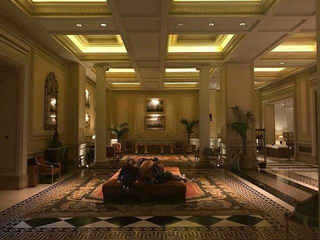 lobby - Grande Bretagne Athenes