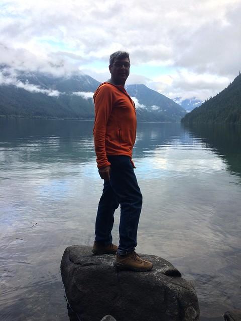 Goofy Pierre on Chilliwack lake