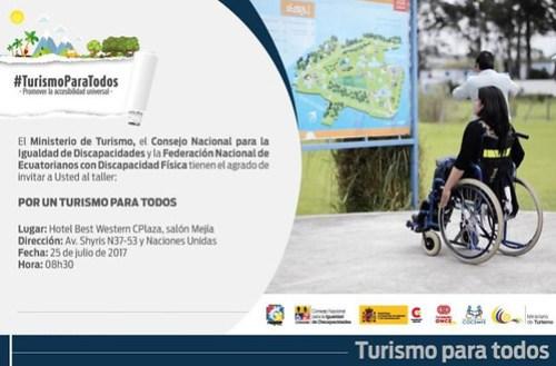 """Taller """"Por un turismo para todos"""""""