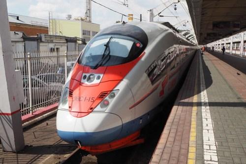 Sapsan train, Moscow