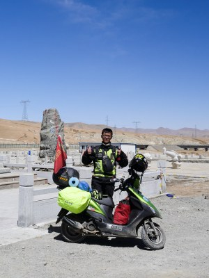 Day Forty Nine - 187km from Budongquan (不冻泉) to Golmud (格尔木) | Jul, 2017