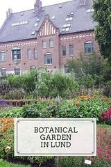 Botanical garden in Lund