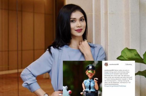 Gara-gara Kontroversi Afifah Nasir & Aliff Aziz Netizen Kecam Anzalna Nasir?
