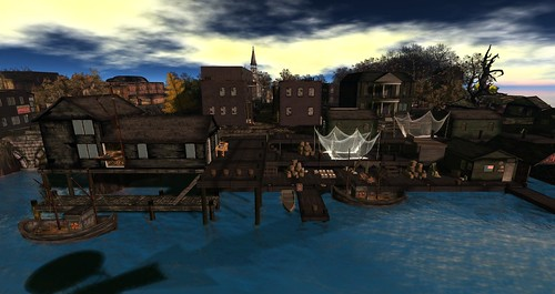 Innsmouth Harbour