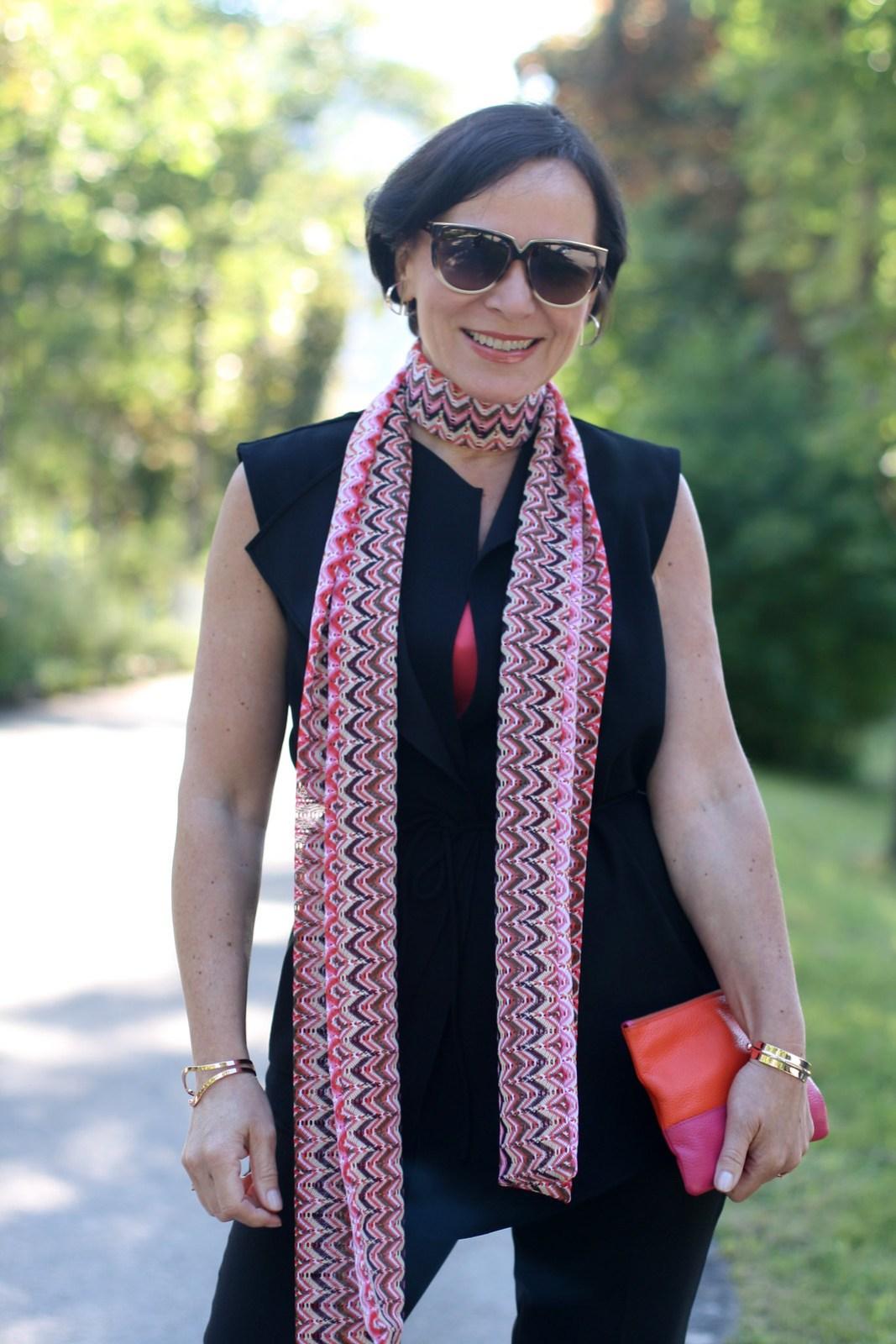 Missoni Style Scarf LadyofStyle