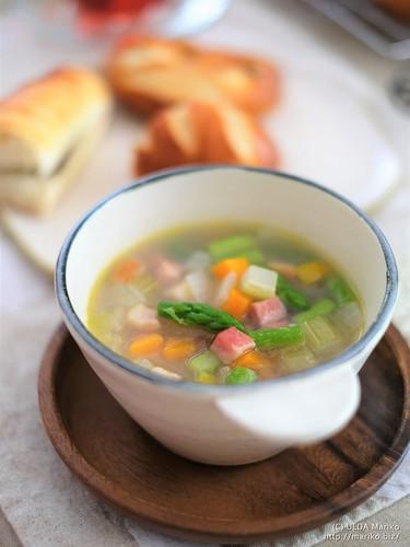 野菜と蕎麦の実スープ 20170722-DSCT6639 (3)
