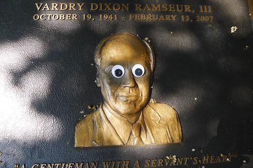 Googly-Eye Bombing Downtown Greenville-119