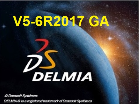 DS DELMIA V5-6R2017 full