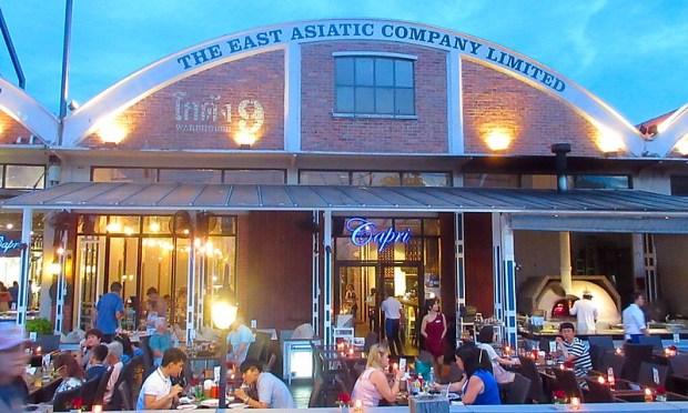 Asiatique Market Restaurants Shops Bangkok